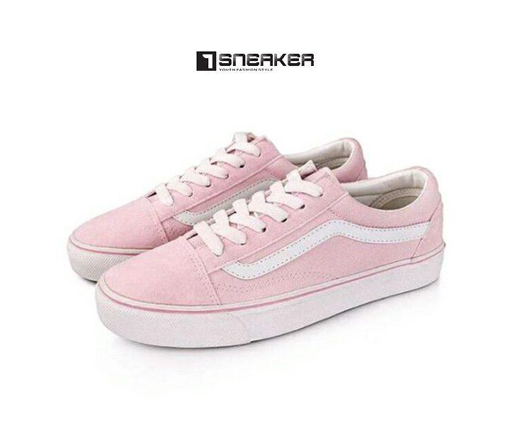 Giày Vans hồng