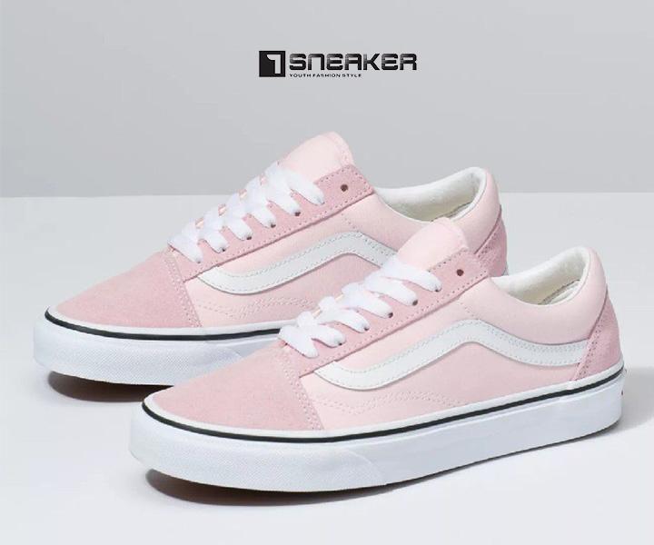 Giày Vans Old Skool màu hồng