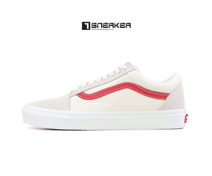 Giày Vans Style 36 Marshmallow racing red