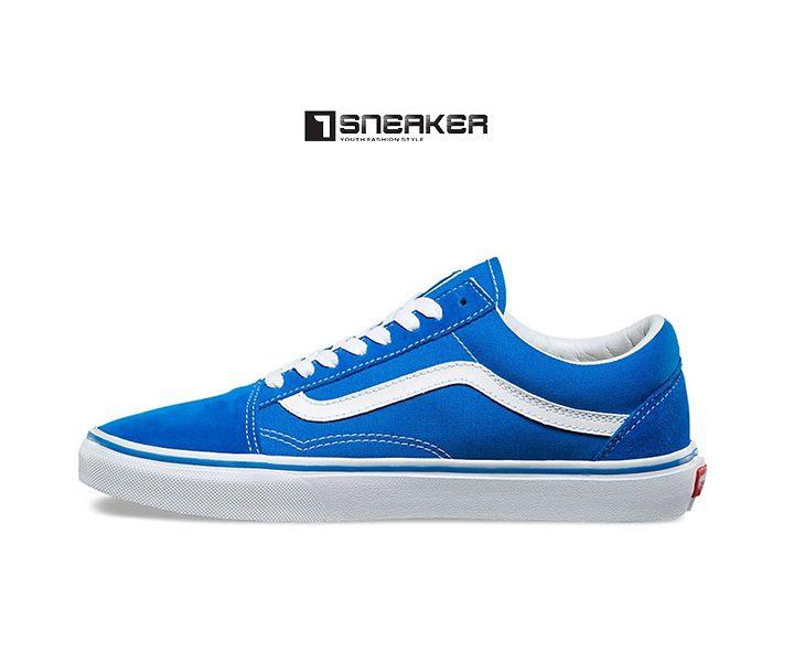 Giày Vans xanh dương