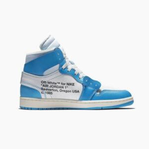 Nike Air Jordan 1 Off White UNC Blue Replica 1:1