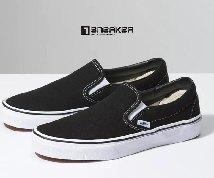 Giày Vans Slip On với thiết kế mang lại sự tiện dùng