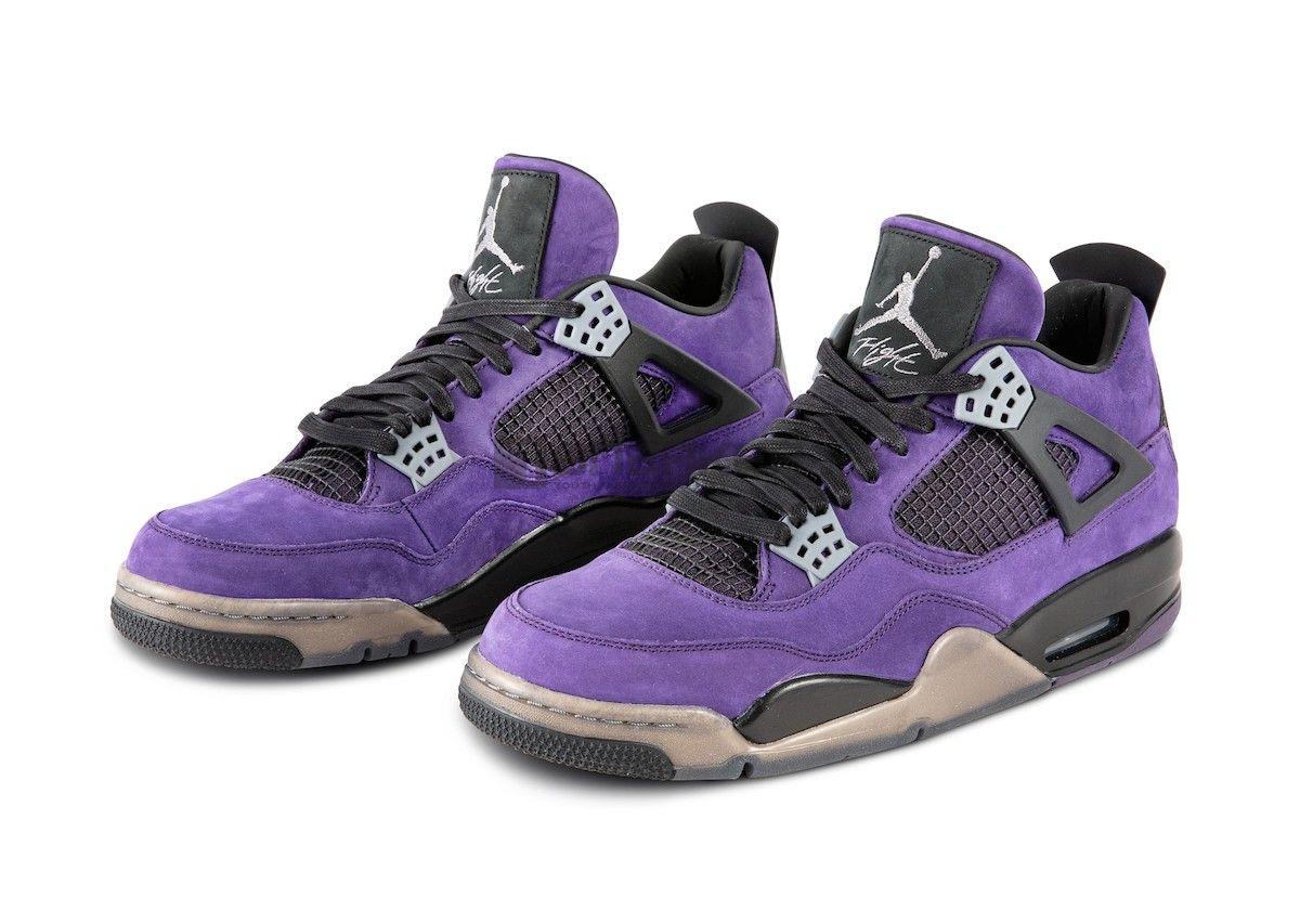 """Air Jordan 4 """"Purple Suede"""""""