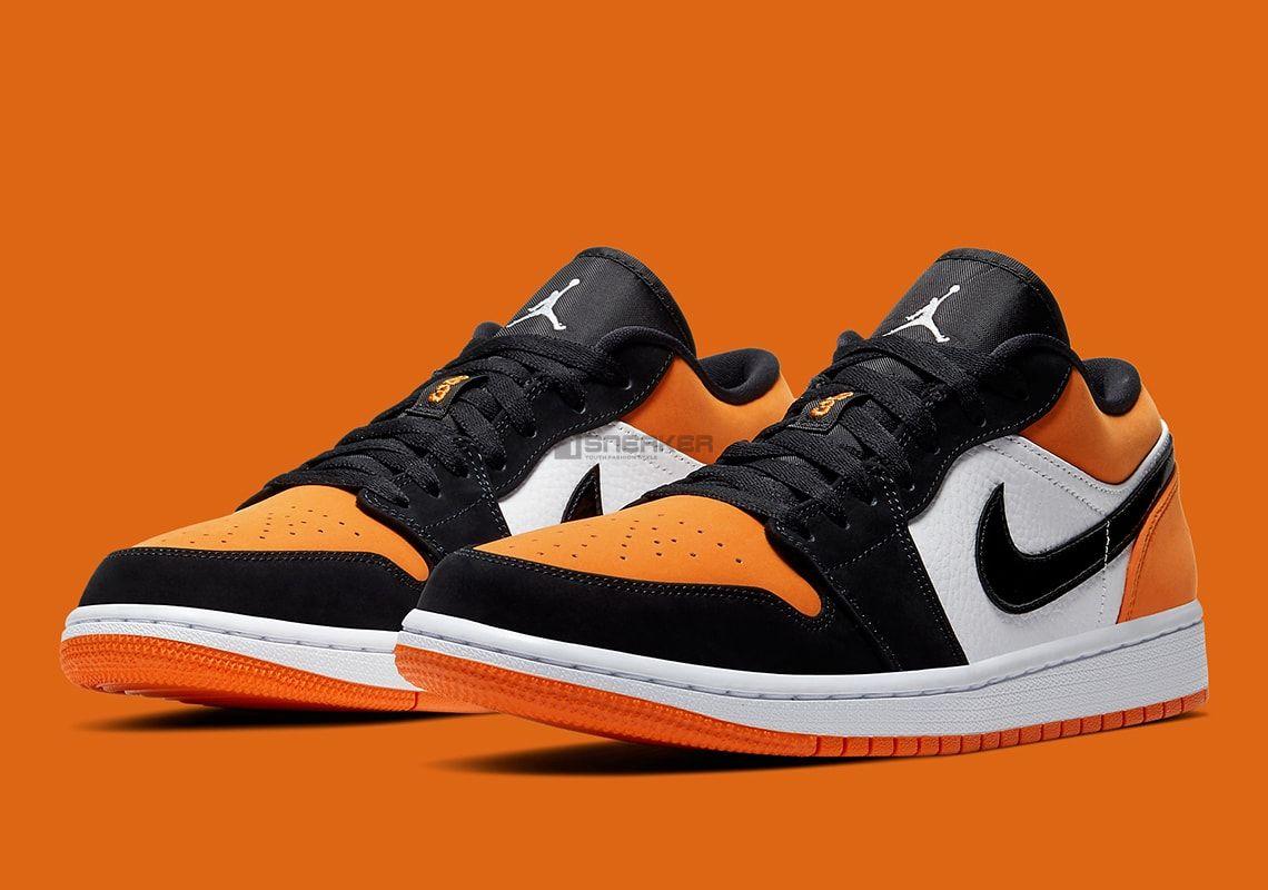Giày Nike Air Jordan 1 Low Orange
